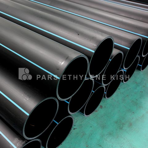 Polyethylene pipes for drinking water